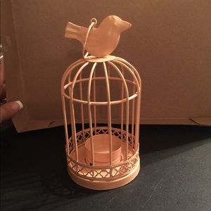 Other - Small bird cage tea light candle holder. Used.